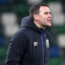 Winning ugly: David Healy doesn't mind how Linfield play as long as they win