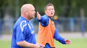 Master class: Kris LIndsay has followed in the managerial footsteps of David Jeffrey