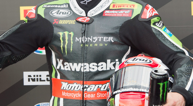Runaway favourite: Jonathan Rea expected to win Irish Motorcyclist of Year award