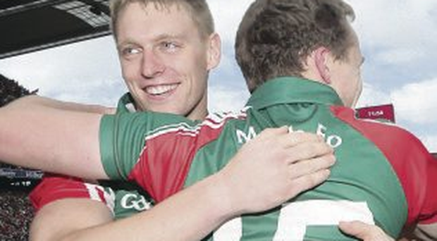 On the brink: Celebrations for Kevin Keane and Andy Moran