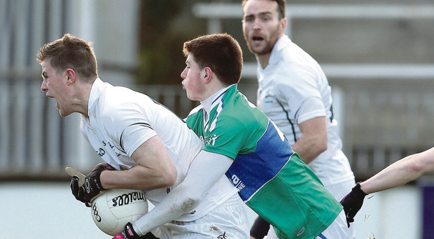 The foul by Athlone IT's Jack Donoghue at the weekend that earned him a black card from referee Derek Fahy