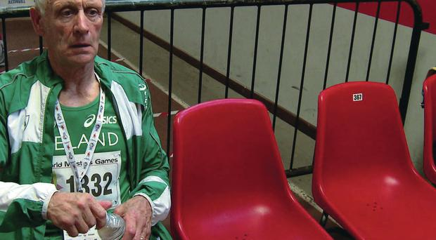 Not slowing down: Patsy Forbes is an athletics veteran at the age of 71 and still competes at a high level