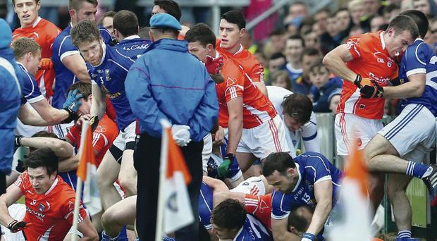 Armagh's pre-match row with Cavan