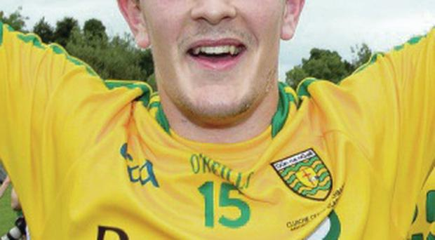 Big future: Stephen McBrearty can be a key man for Donegal
