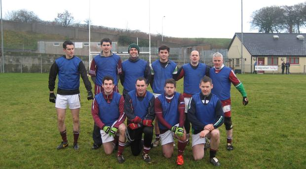 Champions: Last year's winners Pubble/Doon Gaels will be aiming to retain their Townland Sevens trophy