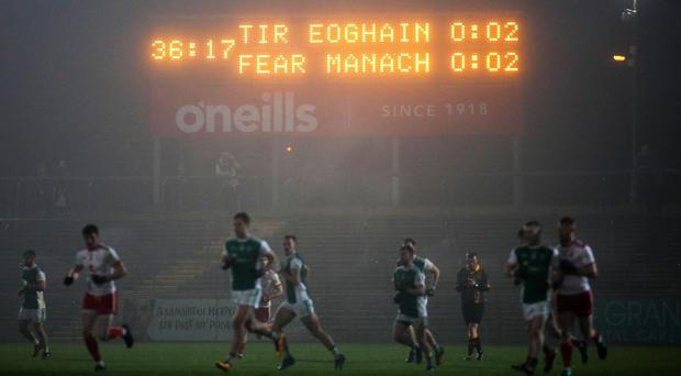 Cool runnings: The McKenna Cup is the traditional season-opener in Ulster but it is not for the faint of heart