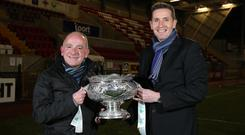 Tommy Breslin and Stephen Baxter brought remarkable success to north Belfast