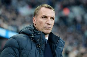 Foxy manager: Brendan Rodgers once again has Leicester City holding their own at the top end of the Premier League table