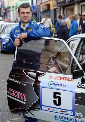 Front runner: Michael Dunlop is among the favourites for the Irish Motorcyclist of the Year award