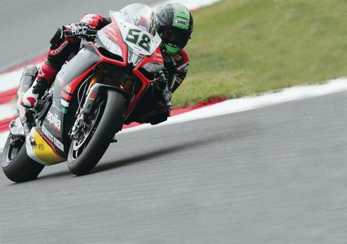 Title tilt: Eugene Laverty is chasing glory at Silverstone