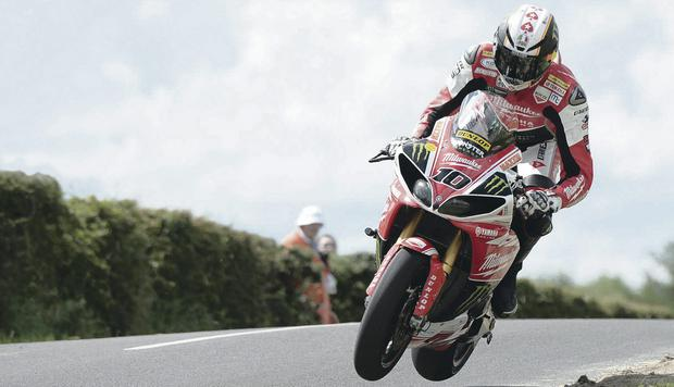 Cummin boy: Conor Cummins will give Dundrod favourites a hard race