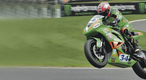 Back on track: Alastair Seeley is looking to improve on his showing at Cadwell Park