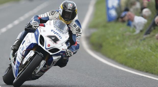 Flat out: Guy Martin is gearing up for a hectic end to season