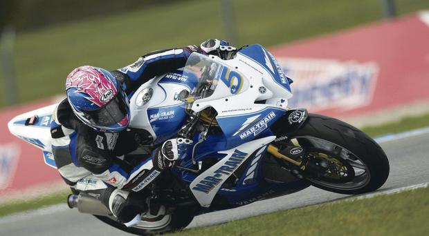 Title talk: Stuart Easton is in pole position to win British Supersport title
