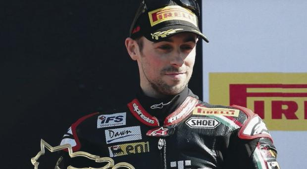 Eugene Laverty completed his 2013 World Superbike season at Jerez in Spain yesterday