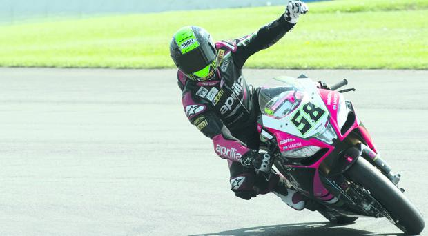Eugene Laverty raced to nine wins for Aprilla this season in World Superbikes