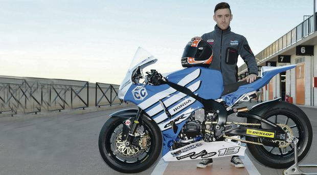 Serious work: Lee Johnston looking for North West success in 2014