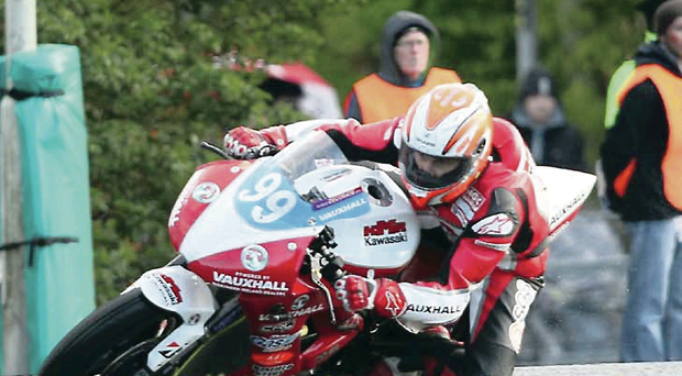 Grand old man: They say life begins at 40 but perhaps 50 is more apt for Jeremy McWilliams as he marks his half century with a return to Moto GP action