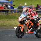 I'll be back: Jeremy McWilliams in action at the North West 200 back in May