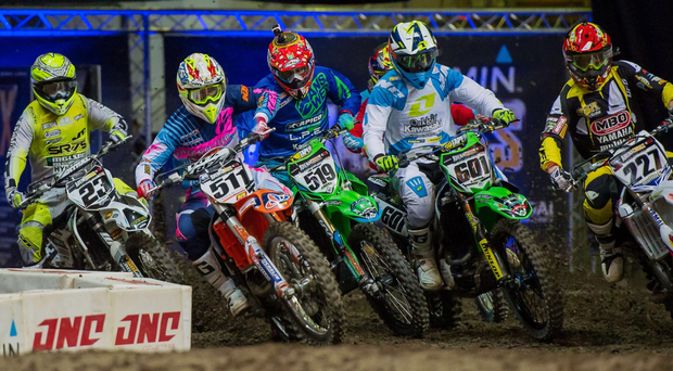 Inside track: world's top motocross riders will race in Belfast later this month