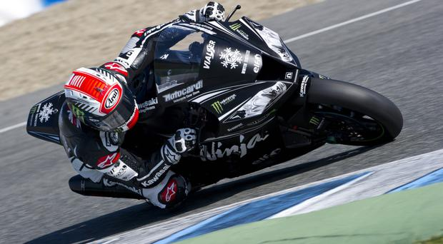 Drive to succeed: Jonathan Rea is expecting to mount a World Superbike title challenge