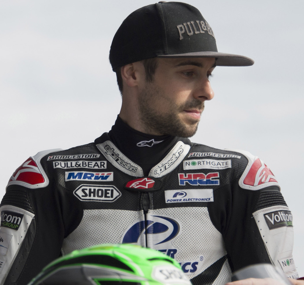 Pumped up: Eugene Laverty