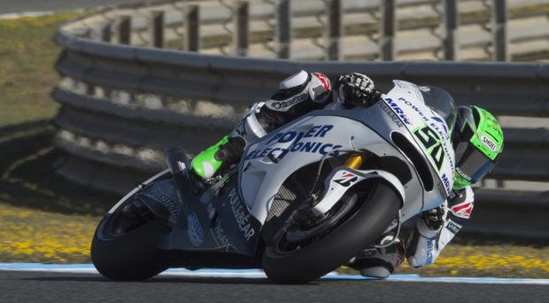 On the right track: Eugene Laverty is feeling full of confidence ahead of Assen