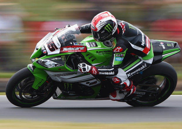 Full throttle: Jonathan Rea needs six more World Superbike Championship points to become NI's first World champion since 1986
