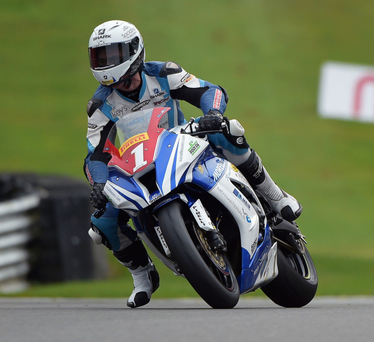 Chasing glory: Josh Elliott will be putting aside his friendship with Danny Buchan this weekend during the Sunflower Trophy races at Bishopscourt