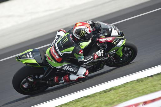 Familiar territory: World champion Jonathan Rea is relishing his return to Donington Park