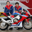 Top team: Honda riders John McGuinness (left) and Guy Martin
