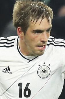 Germany captain Philipp Lahm has every chance of lifting the World Cup next year