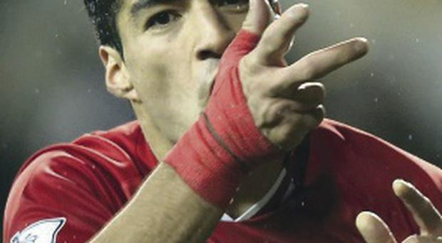 Outstanding: Luis Suarez has been in blistering form