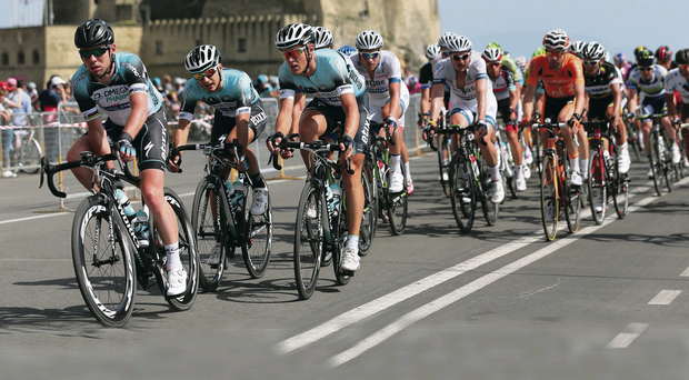 Hot ticket: A leg of the Giro d'Italia will take place in Northern Ireland on a Sunday