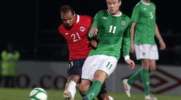 Wish granted: New Linfield recruit Grant McCann