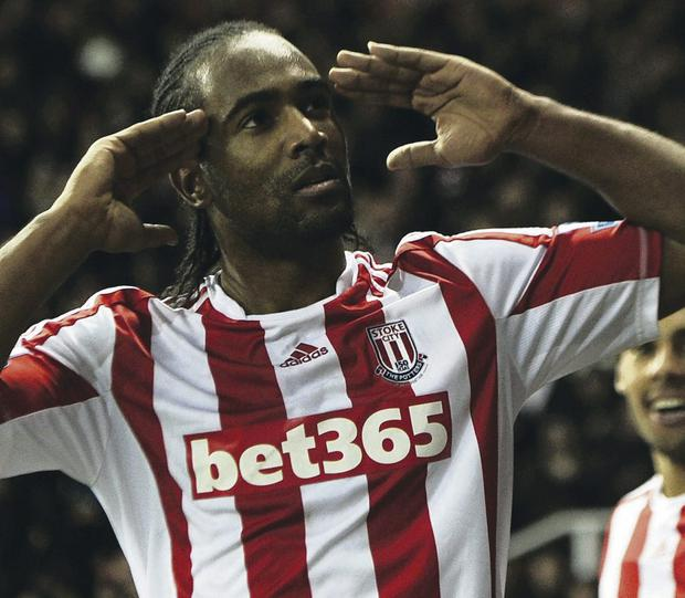 Under spotlight: Stoke's Cameron Jerome has been charged with breaching betting regulations