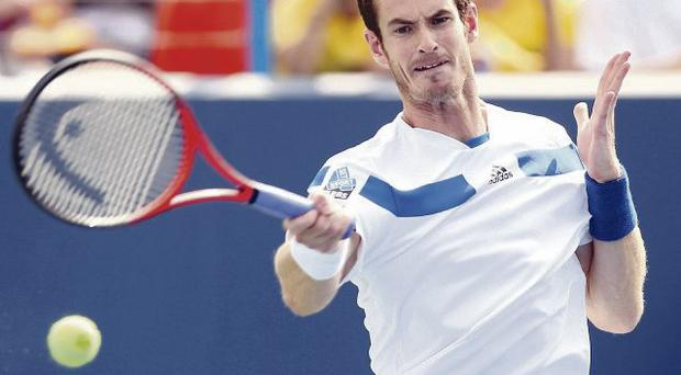 Andy Murray is about to defend his US Open title