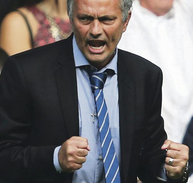 Knockout punch: Jose Mourinho will take Blues to knockout stage