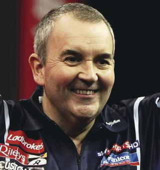 Phil 'The Power' Taylor remains darts' most recognisable face