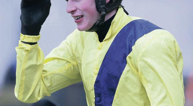 Danny joy: Our Conor's jockey Danny Mullins will be on the Cheltenham Festival panel at the Europa Hotel on March 3