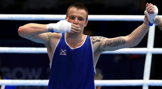 Redemption: Steven Donnelly will leave with at least a bronze