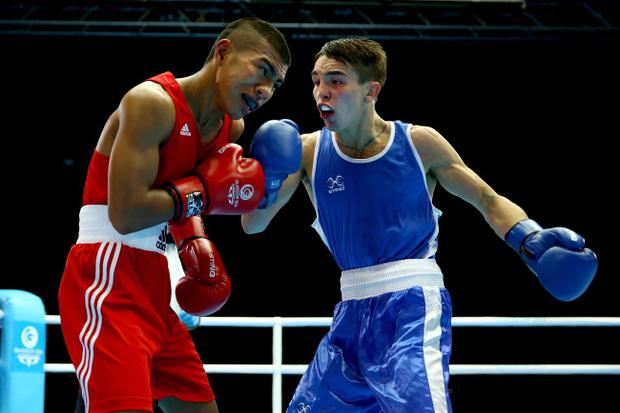 Class act: Northern Ireland's Michael Conlan has been very impressive in the boxing ring so far