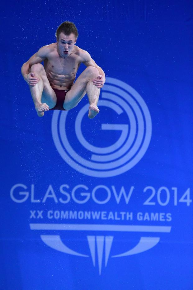 Plunging hopes: Jack Laugher had that sinking feeling