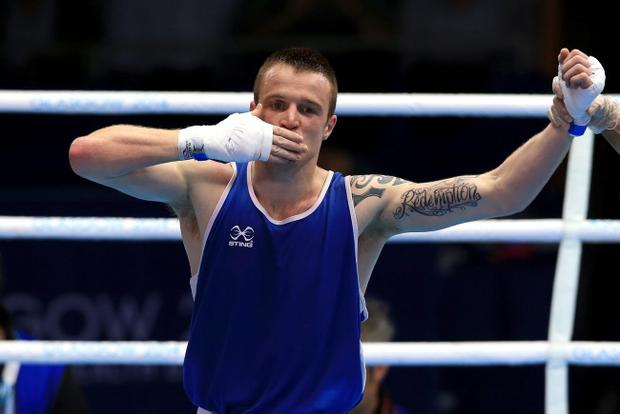 Ballymena's Steven Donnelly could be heading to Rio next summer