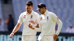 England relied on two key men for their position on day two (Jason O'Brien/PA)