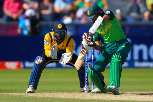 Amla showed his class against Sri Lanka (Owen Humphreys/PA)