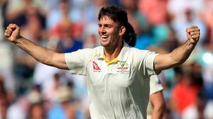 MItch Marsh took five wickets in England's first innings (PA)
