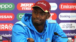 West Indies captain Jason Holder has lauded health provisions for his team (Mark Kerton/PA)