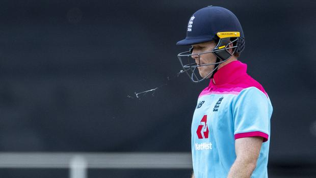 Eoin Morgan wants more 'ruthlessness' from England (Themba Hadebe/AP)