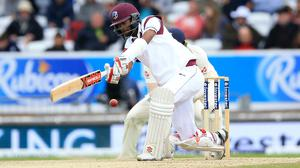 Kraigg Brathwaite top-scored for his side (Nigel French/PA)